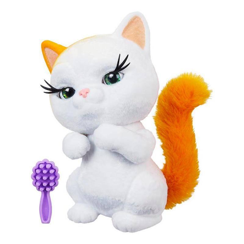 игрушечная картинка с котенком потом