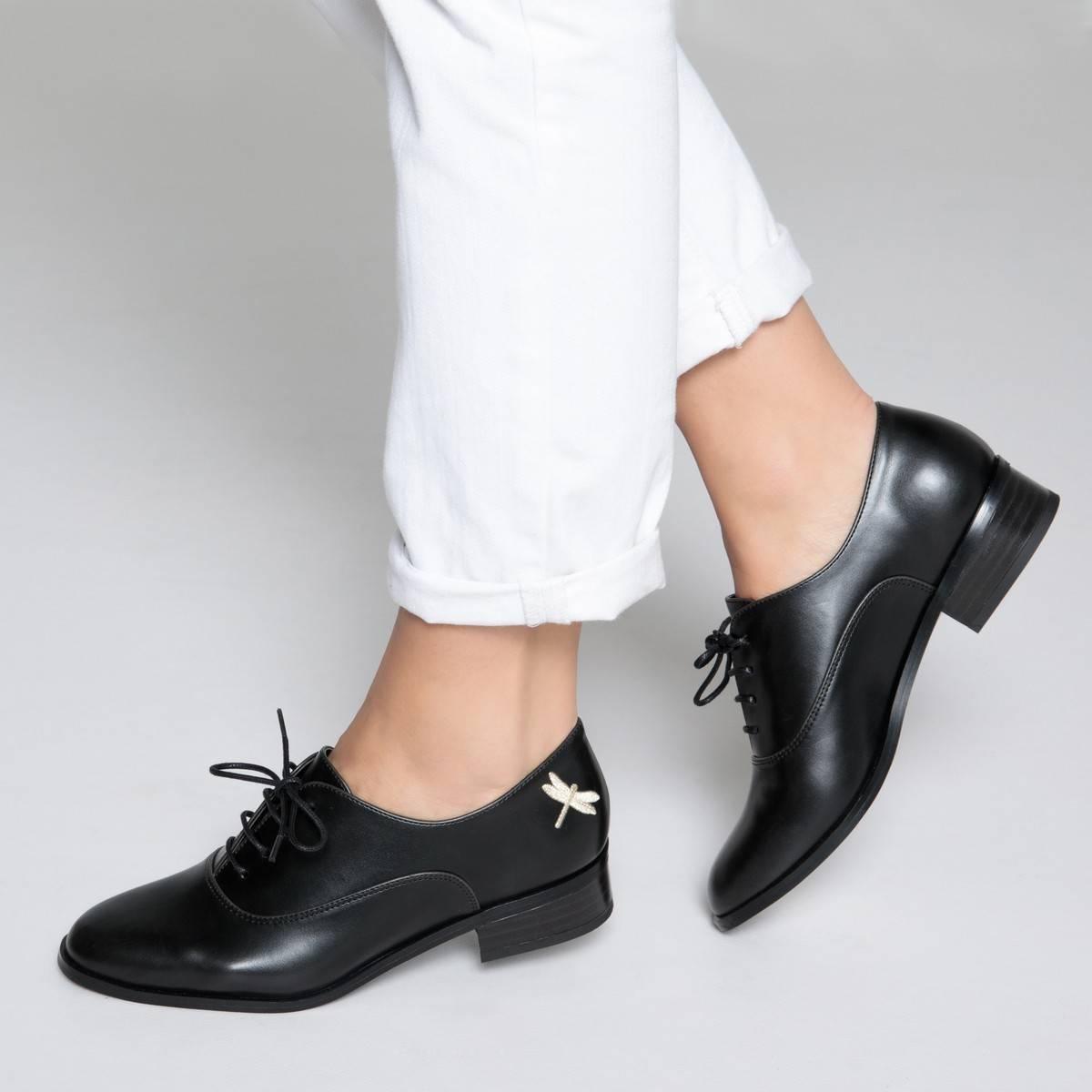мекканскому ботинки дерби женские фото потому как знаю