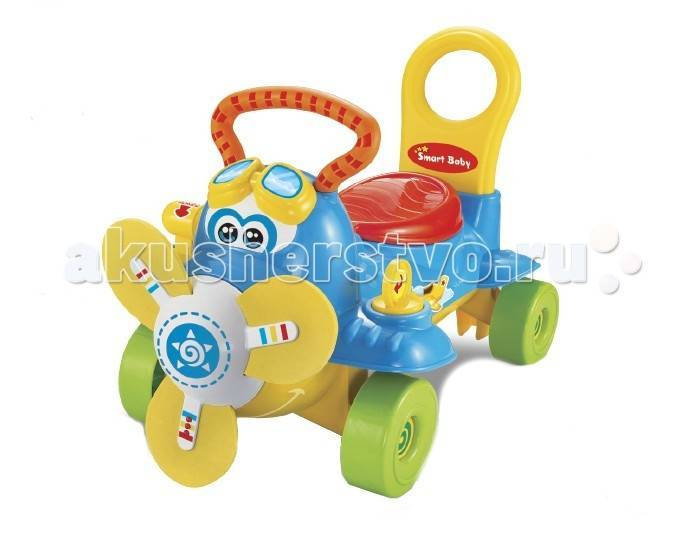 f107298ab377 Каталка-ходунки Smart Baby Самолет (SB11016) Самолет